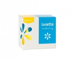 Lunette Menstrual Cup - Yellow Lucia